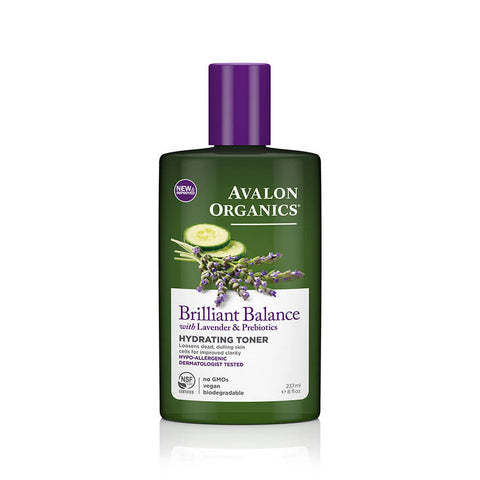 Avalon Organics Brilliant Balance Hydrating Toner