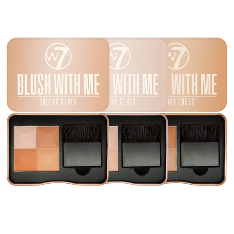 W7 Blush with Me