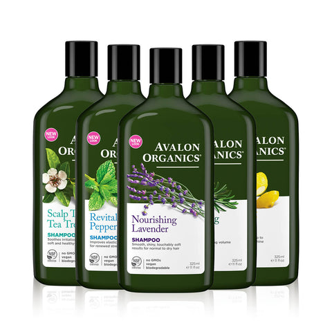 Avalon Organics Everyday Hair Care Shampoo 325ml
