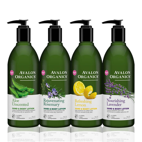 Avalon Organics Hand & Body Lotion