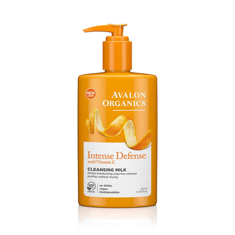 Avalon Organics Intense Defense Cleansing Milk