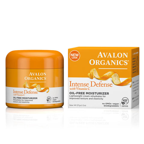 Avalon Organics Intense Defense Oil-Free Moisturizer