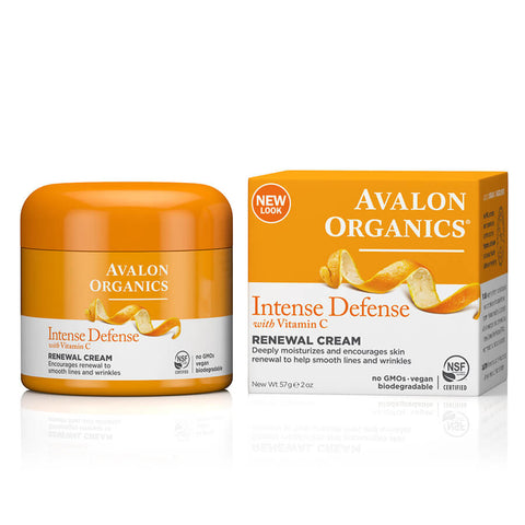 Avalon Organics Intense Defense Renewal Cream