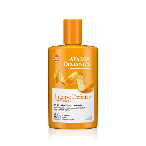 Avalon Organics Intense Defense Balancing Toner