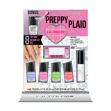 L.A. Colors Preppy Plaid Nail Design Kit