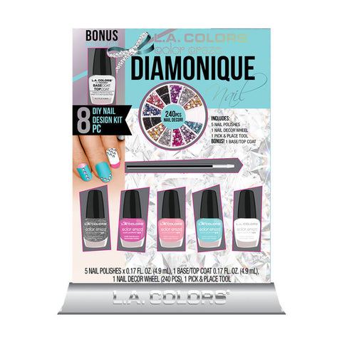 L.A. Colors Diamonique DIY Nail Design Kit