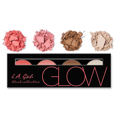 L.A. Girl Beauty Brick Blush Collection