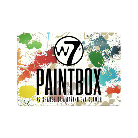 W7 Paintbox - 77 Piece Eyeshadow Palette