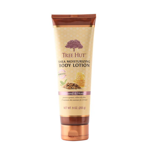 TREE HUT SHEA MOISTURIZING BODY LOTION ALMOND & HONEY