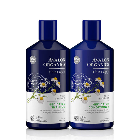 Avalon Organics Itch & Flake Therapy Medicated Anti-Dandruff Hair Care