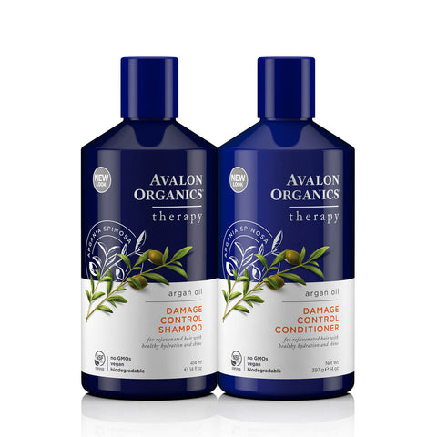 Avalon Organics Damage Control Hair Care with Argan Oil