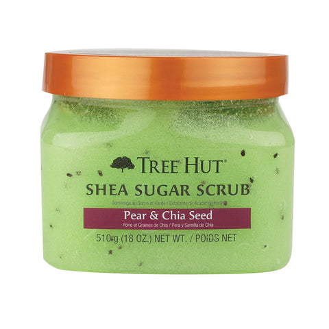 TREE HUT SHEA SUGAR SCRUB PEAR & CHIA SEED