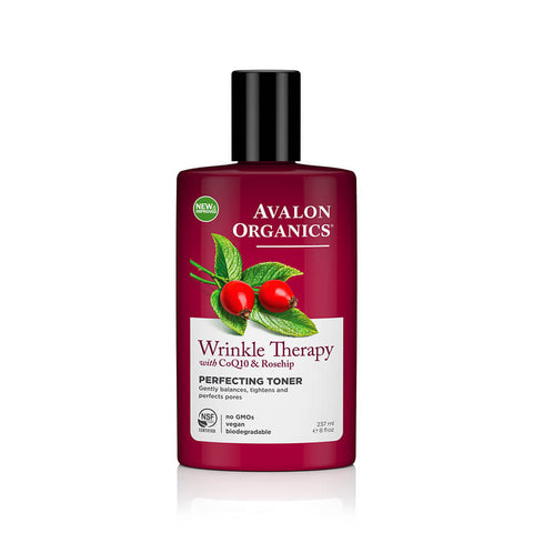 Avalon Organics Wrinkle Therapy Perfecting Toner