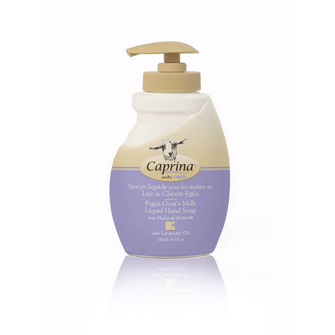 Caprina Liquid Hand Soap Lavender Oil