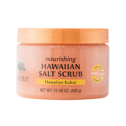 TREE HUT NOURISHING HAWAIIAN SALT SCRUB HAWAIIAN KUKUI