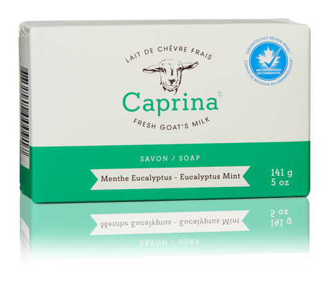 CAPRINA SOAP EUCALYPTUS MINT - 141g