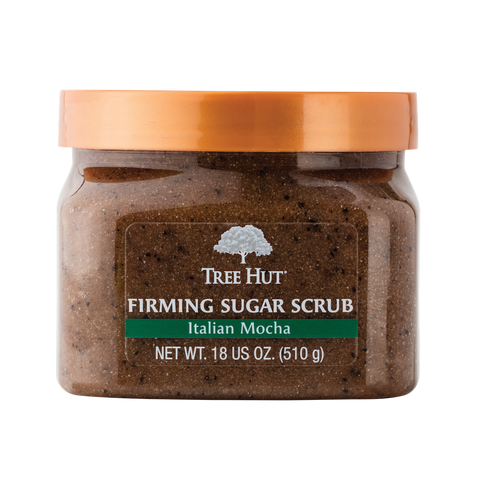 TREE HUT SUGAR SCRUB MOCHA & COFFEE BEAN