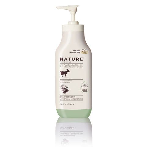 NATURE BODY LOTION FRAGRANCE FREE - 350ml