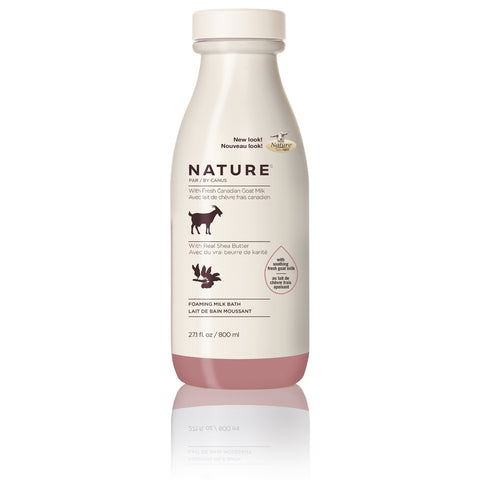 Nature Foaming Milk Bath She Butter  - 800ml