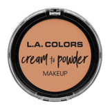 L.A. COLORS CREAM TO POWDER FOUNDATION