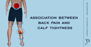 Back pain and calf tightness