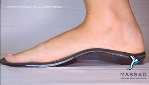 Foot on MASS4D® Insole