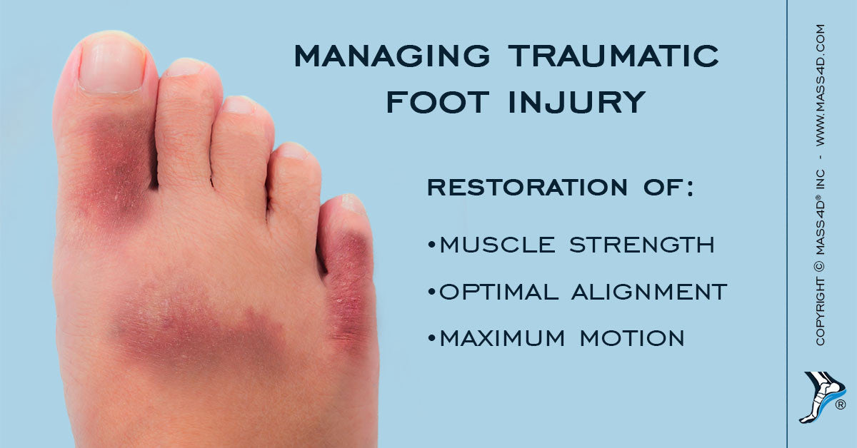 Traumatic Foot Injury