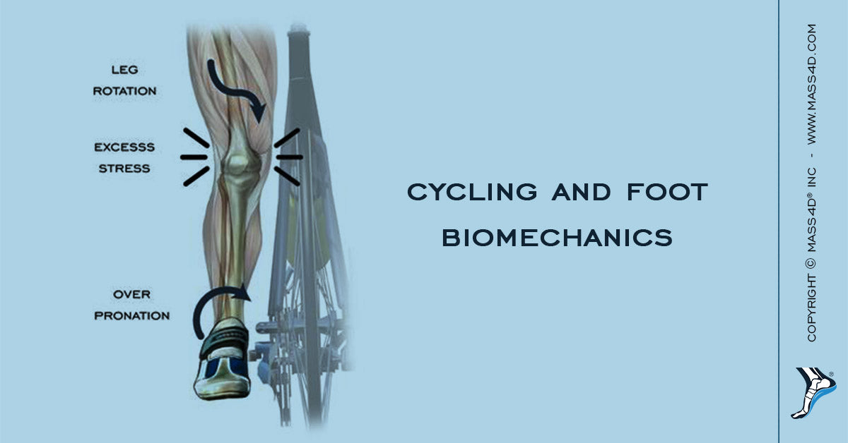 A Look At Cycling and Foot Biomechanics - MASS4D® Insoles and Foot ...