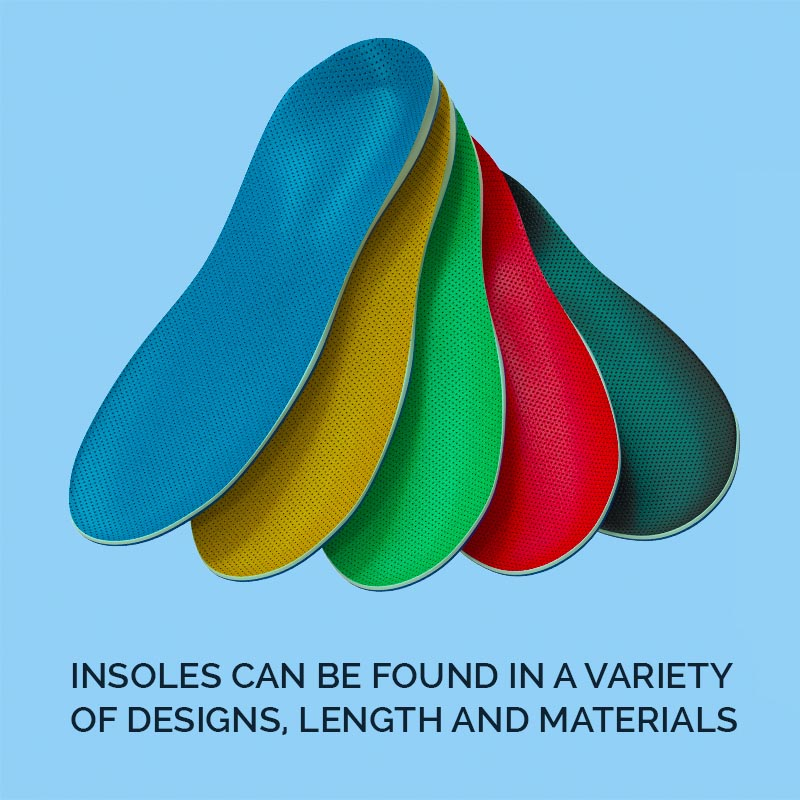 Many Types Of Insoles