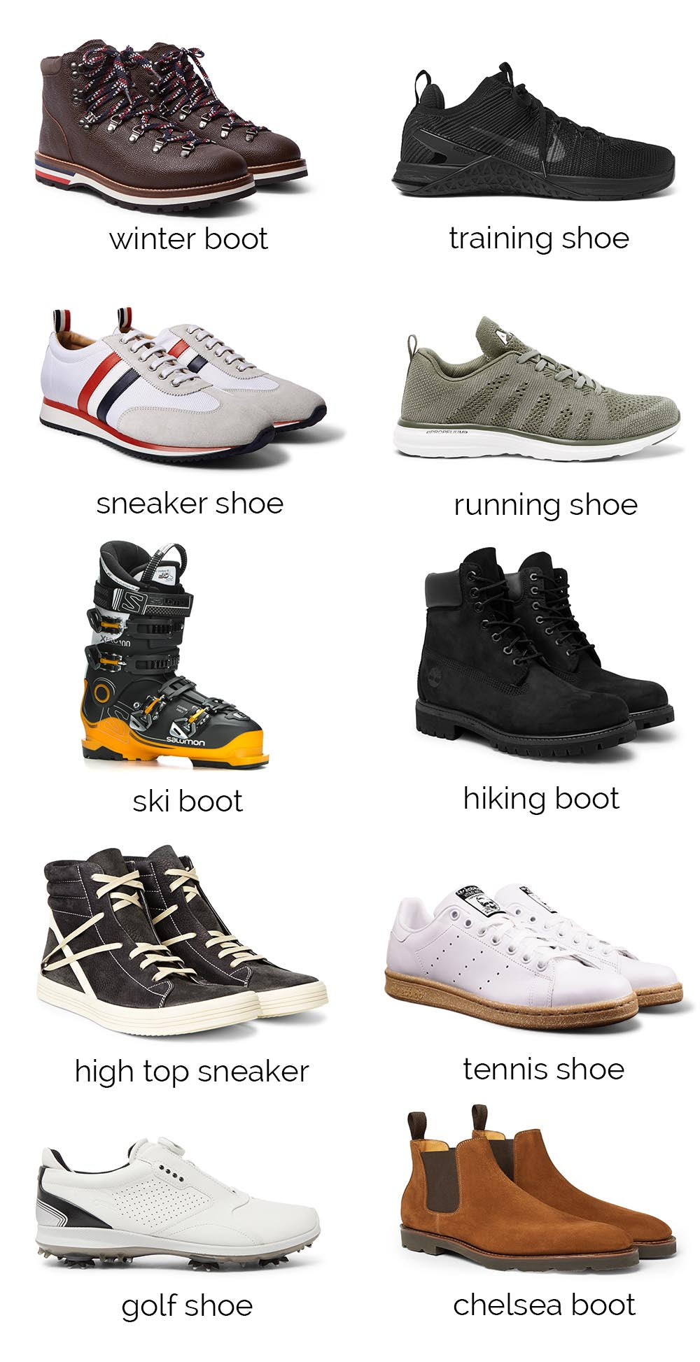 Original Profile Shoe Suggestions
