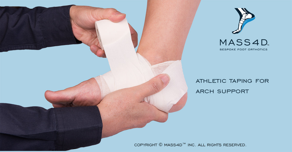 Athletic Taping for Arch Support