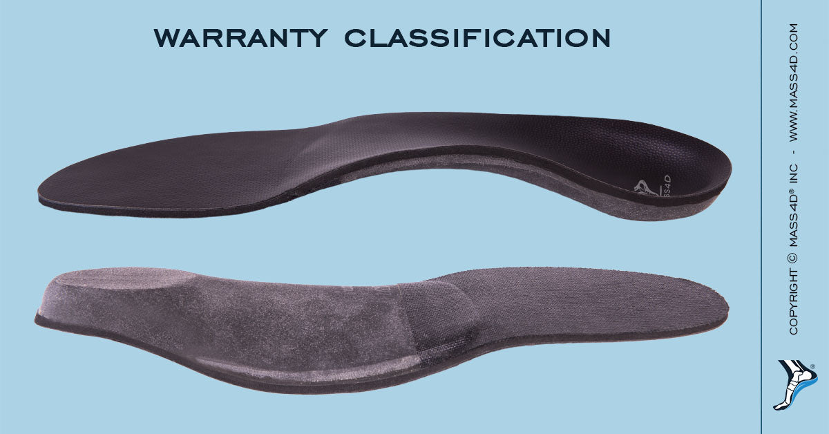 Insole Warranty Classification