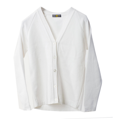 White Summer Cardigan