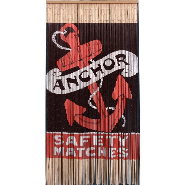 Bamboo curtain; safety matches