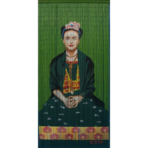 Bamboo curtain; Frida