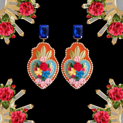 Ex-Voto earrings