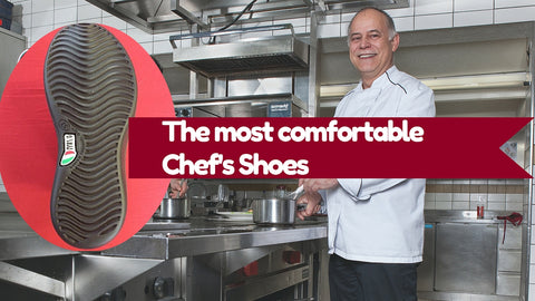 the most comfortable chef's shoe