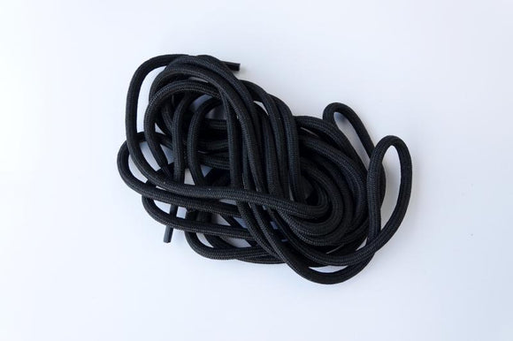Shoelace black - for Sorak & Zermatt Black
