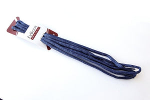 Shoelace true navy - for Bauma Blue