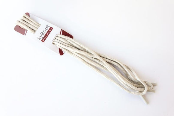 Shoelace beige grey - for Bauma Sand