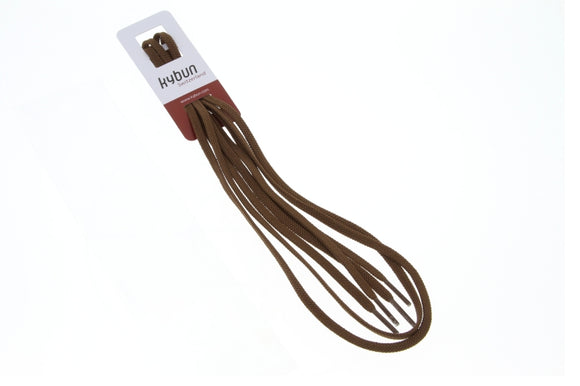Shoelaces chocolate brown - for Köniz tan M