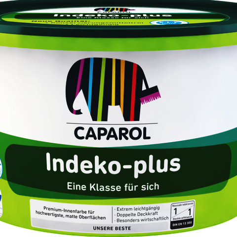 Caparol Indeko-plus Premium High Opacity Matt Emulsion 2.5% Sheen - paintshack