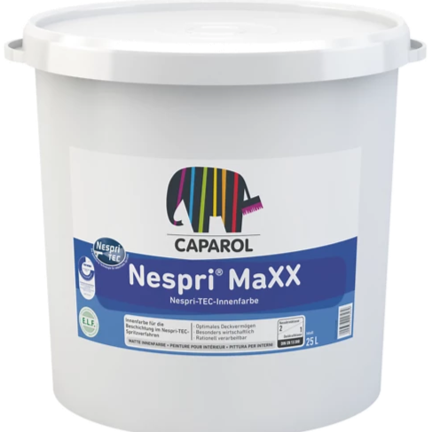 Airless Spray Nespri MAXX Class 1 Matt Emulsion - paintshack