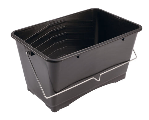 15L Black Plastic Scuttle - paintshack