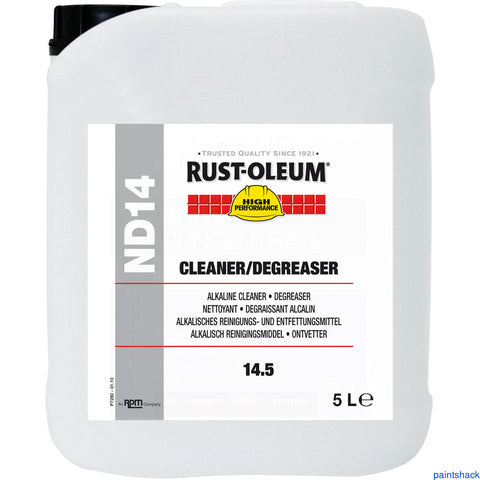 Rustoleum ND14 Cleaner/Degreaser 5lt