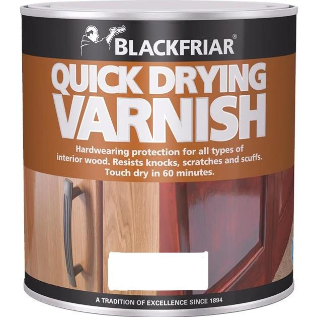 Blackfriar Quick Drying Clear Varnish 2.5lt - paintshack