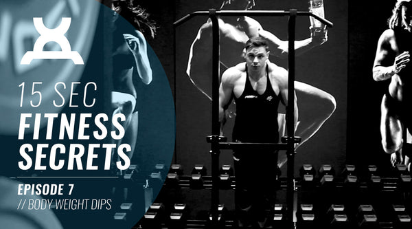 15 Sec Fitness Secrets | #7 Best ways to do Dips