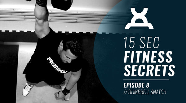 15 Second Fitness Secrets #8 | Dumbbell Workout the Dumbbell Snatch