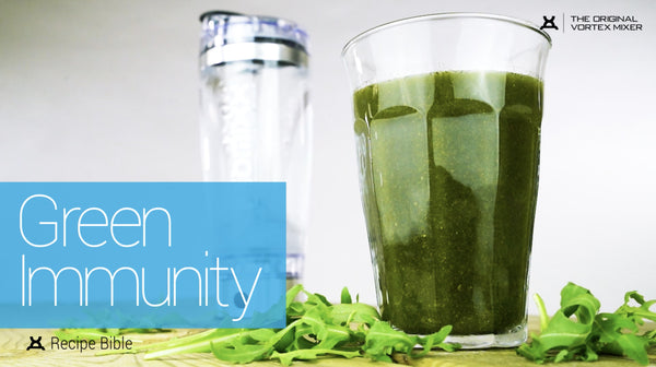 Improve Your Health with our Nutrient-Packed Green Immunity Recipe