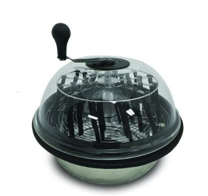 "Twisted Trimmers 18"" Clear Top Bowl Trimmer"